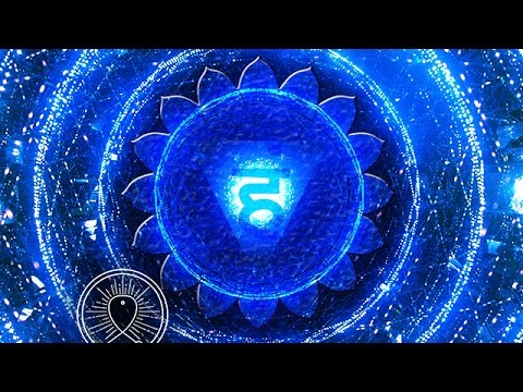 Binaural beats for insomnia: binaural sleep music therapy, sleeping music, Vishuddha Chakra music