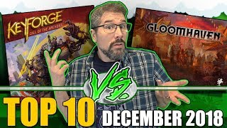 Top 10 hottest board games: December 2018