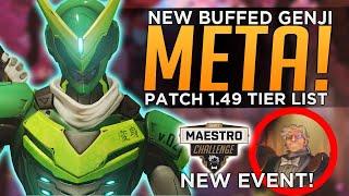 Overwatch: BEST & Worst Heroes Patch 1.49 Tier List - Sigma Maestro Event SKIN!