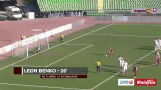 Sažetak: FK Olimpic 1:3 FK Sarajevo