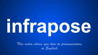 the correct pronunciation of infringes in English. thumbnail