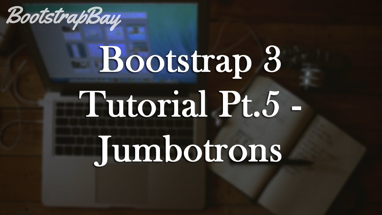 Bootstrap 3 tutorial pt5 jumbotron youtube baditri Image collections