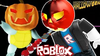 Roblox Pokemon Halloween Update Obby | Roblox Let's Play!