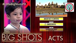 Little Big Shot Philippines: Sean | 3-year-old Street Smart Kid