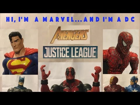 Hi, I'm a Marvel...and I'm a DC: Avengers: Infinity War and Justice League (Non-Spoiler)