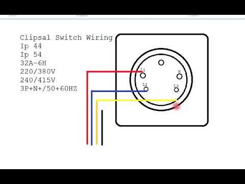 Clipsal Light Switch Wiring Diagram