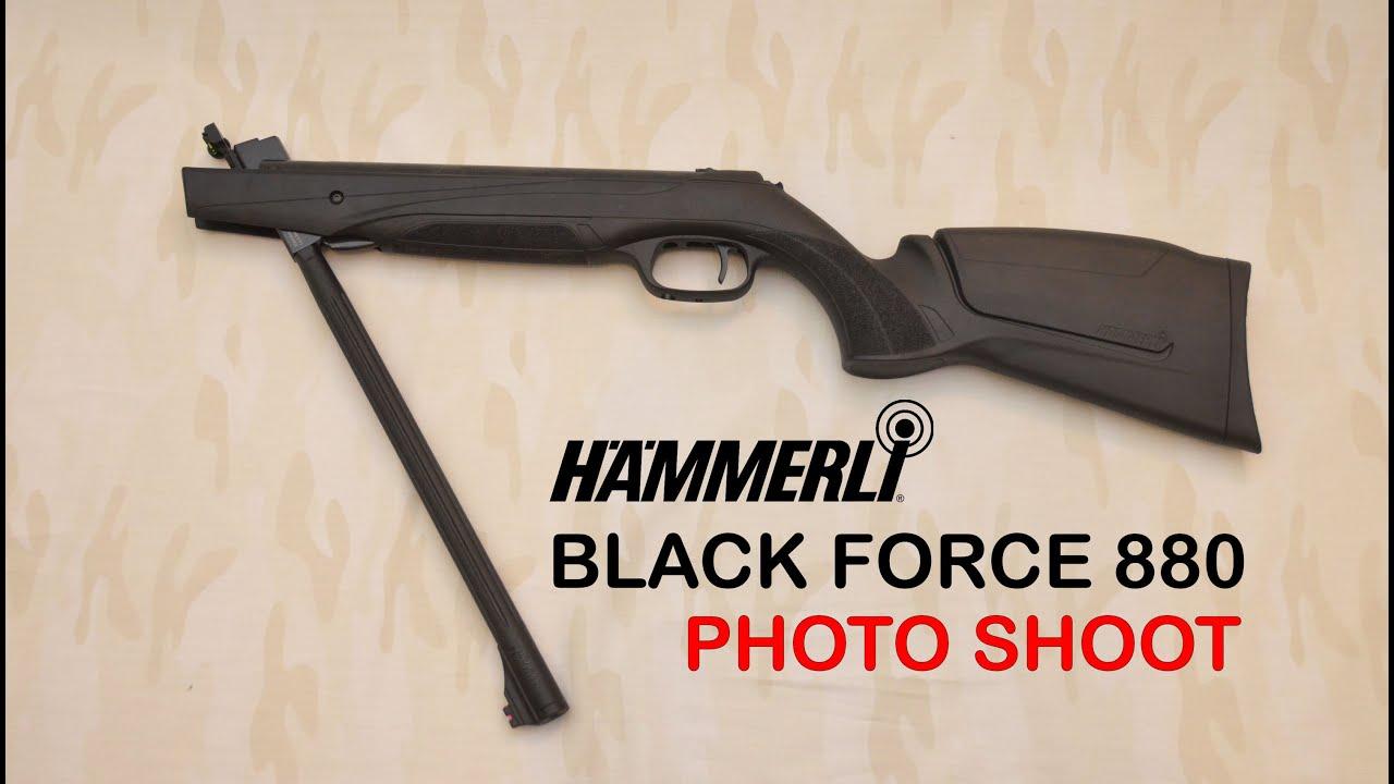 Hammerli Black Force 880 photoshoot