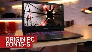 Origin PC Eon15-S gaming laptop hustles for your buck