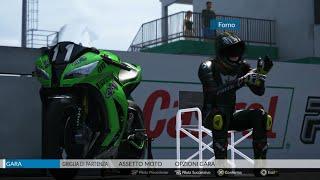 RIDE PS4 - Kawasaki ZX 10R SBK Racing Version   SUGO - Gameplay No commentary - Walkthrough