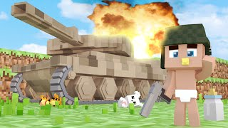 minecraft who s your daddy tanque de guerra beb tanque
