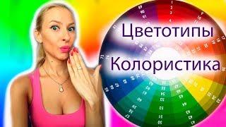 видео Цветотип зима, макияж и палитра цветов