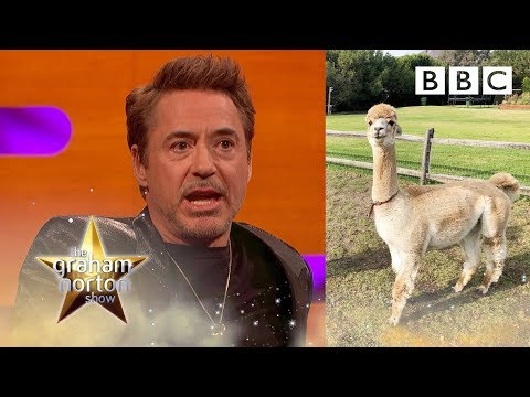 Robert Downey Jr: the Avenger that owns LLAMAS?!? | The Graham Norton Show - BBC