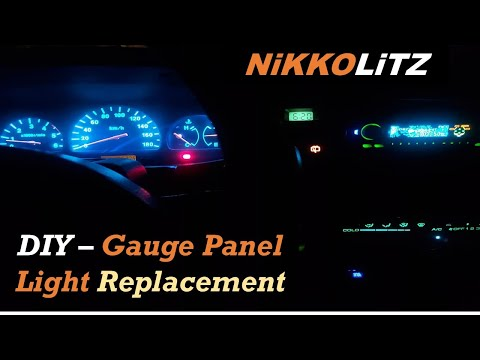 Isuzu Crosswind / Sportivo Dashboard Gauge Panel Replacement