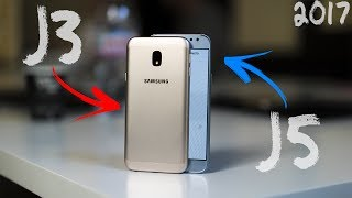 Prise en main des Samsung GALAXY J3 J5 et J7 2017