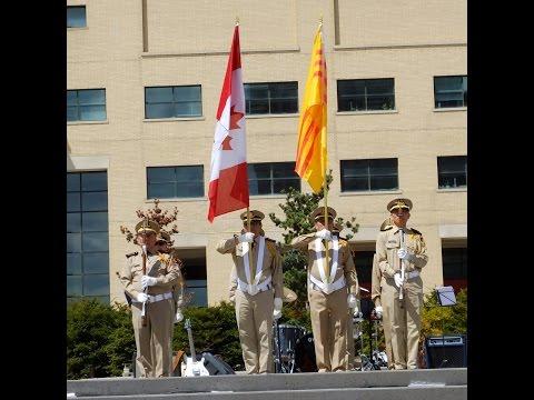 Lễ Tưởng Niệm 40 năm Quốc Hận tại thành phố Mississauga, Canada