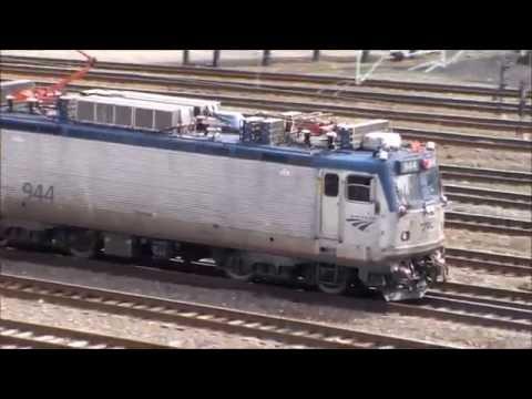 Amtrak's AEM7's Final Year