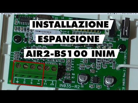 Installazione ricetrasmettitore wireless