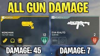 Apex Legends DID YOU KNOW? - All Gun Damage (Which Guns are Good & Which Guns Suck)