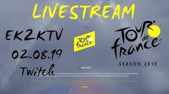 Tour de France 2019 [PS4] Livestream 02.08.19 - Die Tour mit Bora geht weiter