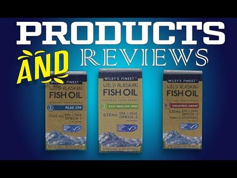 Wiley's Finest Wild Alaskan Fish Oil