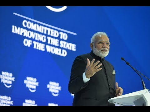 PM Modi's speech at World Economic Forum Plenary Session, Davos