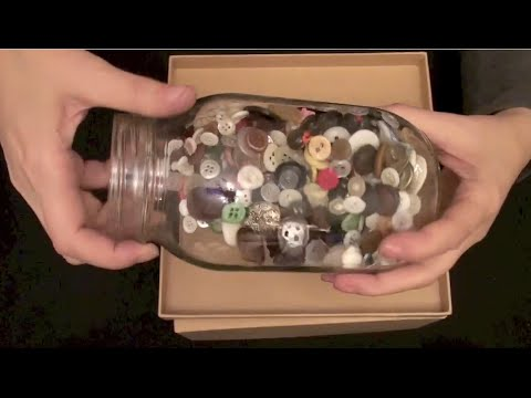 ASMR: Button Collection (ASMR tingle trigger sounds, Buttons, calming sounds, No speaking)