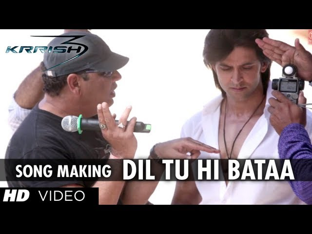 Dil Tu Hi Bataa Song Making | Krrish 3 | Hrithik Roshan, Kangana Ranaut Travel Video