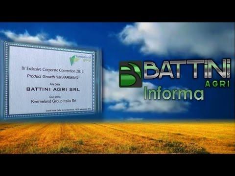 Battini Agri Informa 24/2013 4^ Exclusive Corporate Convention