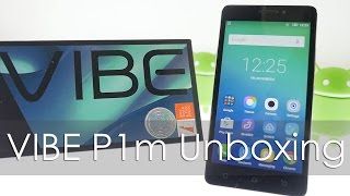 Lenovo Vibe P1m Budget 4G Smartphone Unboxing & Overview
