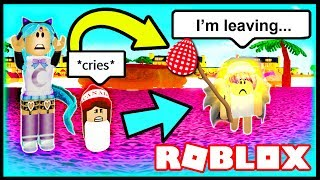 MY BABY RAN AWAY FROM HOME!! | Roblox Robloxian Life | Abandoned Baby Roblox Roleplay