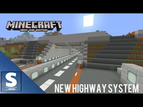 MINECRAFT - NEW HIGHWAY SYSTEM TOUR - AMERICAN HIGHWAYS