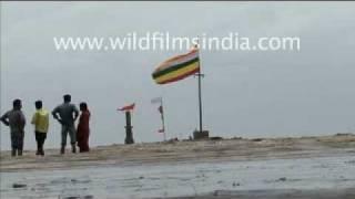 Temple in the sea? Bhavnagar