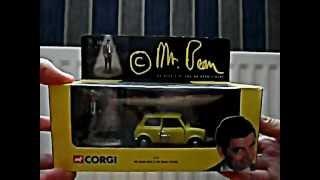 The Complete Corgi Mr. Bean Mini Collection
