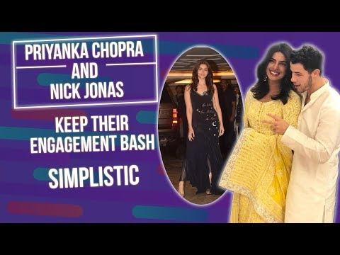 Priyanka Chopra and Nick Jonas keep their engagement bash simplistic | Pinkvilla | Bollywood