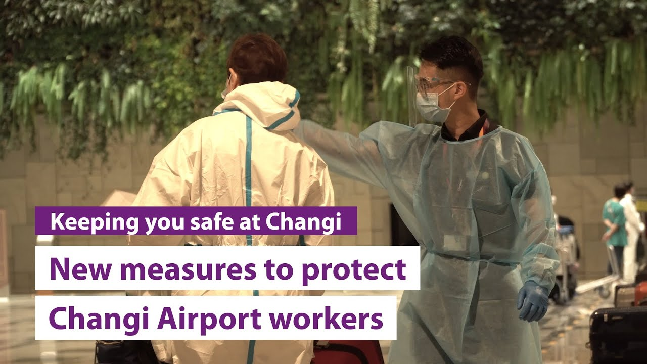 New measures to protect Changi Airport workers