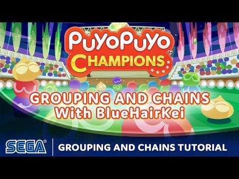 Puyo Puyo Champions   Beginner Tutorial: Grouping and Chains