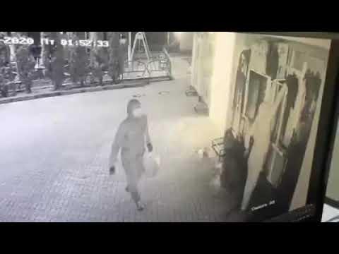 Бліц -Інфо: Відео підпалу мазагинів у Надвірні