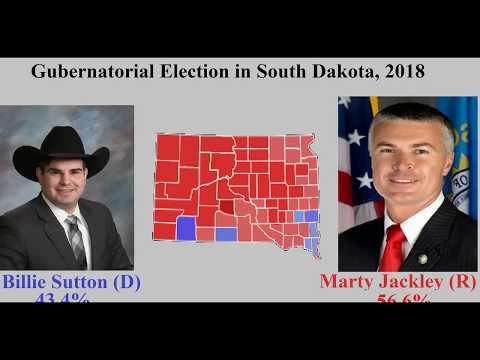 Gubernatorial Election in South Dakota, 2018