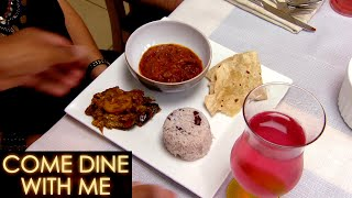 The Guests Try Goat Curry! | Come Dine With Me
