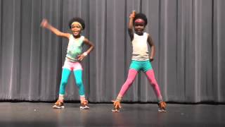"5 Year Old Twins Workout to Beyonce ""Move Your Body"