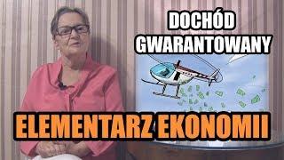 ELEMENTARZ EKONOMII - odc.95 Dochód gwarantowany