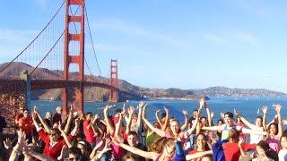 Bay Area Flashmob For ISRAEL