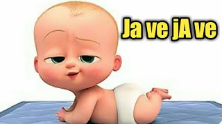 Ja ve ja ve ||Parmish Verma||animated boss baby version