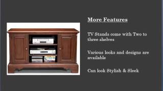 Guide to TV Stands & Types