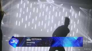 Repeat youtube video Eurovision Song Contest 2014 - Recap of ALL Songs!