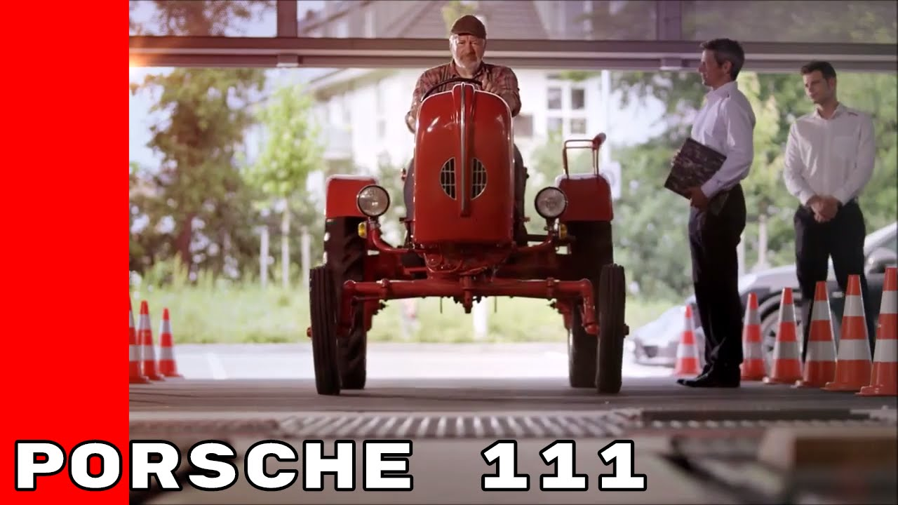Taking A Porsche 111 Tractor To Porsche Service Youtube
