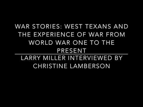 War Stories | Interview with Larry Miller