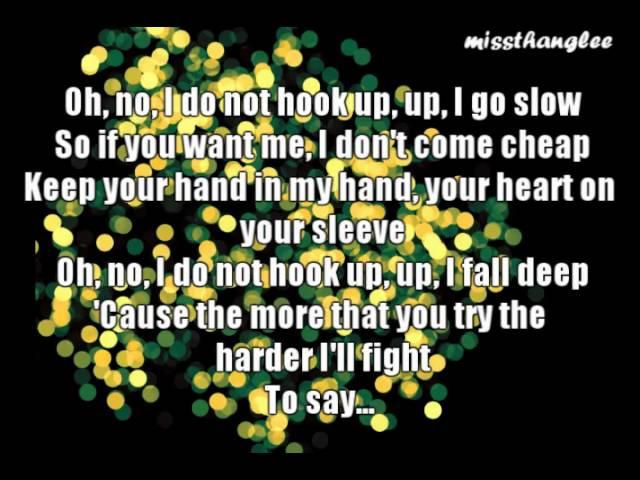 I Do Not Hook Up- Kelly Clarkson lyrics