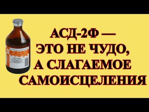 Вся правда об АСД-2Ф в лечении трихомониаза.