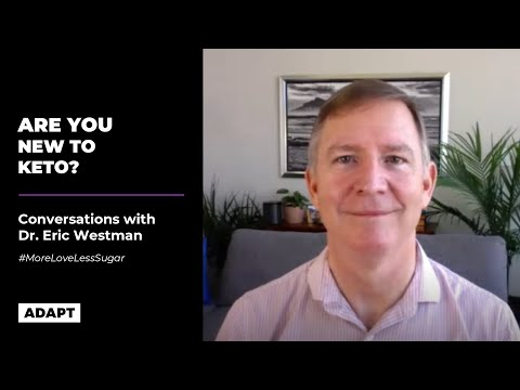 ARE YOU NEW TO KETO? — Dr. Eric Westman